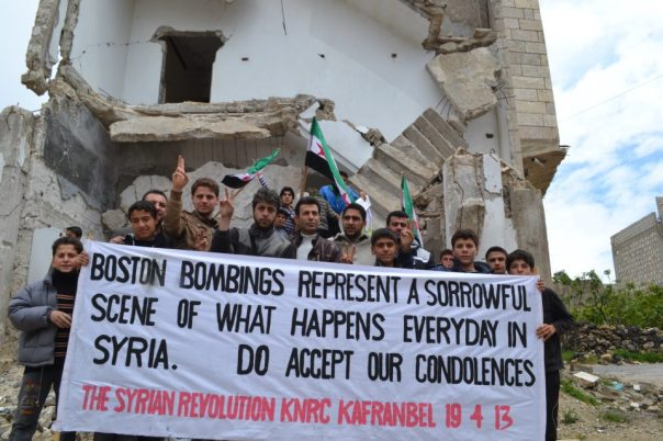 Kafranbel - Boston bombings